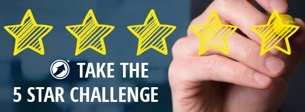 Invest in Your Future and grow your practice! Take the 5 Start Challenge